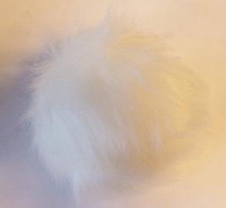 Pälstofs fuskpäls - Pälstofs vit