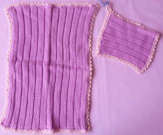 Grytlapp / Pannlapp & handduk 2 st - Grytlapp handduk