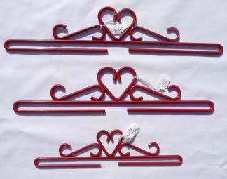 Upphängningsbeslag röd - Upphängningsbeslag 18 cm