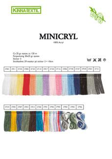 Minicryl 100% Acryl - Minicryl 27001
