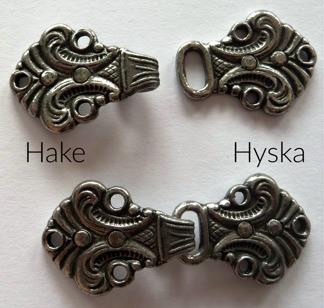 Tenn Hyska och Hake 26 mm - Tennhake och Tennhyska
