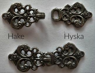 Tenn Hyska och Hake 31 mm - Tennhake och Tennhyska