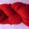 Ljusvekegarn 2/2 100 g - Röd 77004