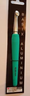 Virknål  10mm - Virknål basix aluminium
