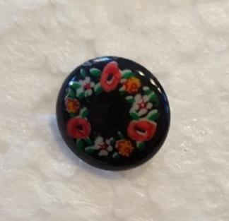 Knapp - Knapp blommor 13mm