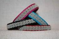 Produktnamn STOCKHOLM, bredd ca 1 cm. Armbandet går att få i alla skinnfärger som finns i våra färgkartor. I beställningsformuläret bestämmer du även hur långt armbandet ska vara. Pris:340SEK