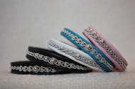Produktnamn EYJAFJÖLL, bredd ca 0.9 cm. Armbandet går att få i alla skinnfärger som finns i våra färgkartor. I beställningsformuläret bestämmer du även hur långt armbandet ska vara. Pris:290SEK