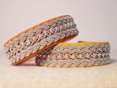Produktnamn SKOPJE, bredd ca 1,7 cm. Armbandet går att få i alla skinnfärger som finns i våra färgkartor. I beställningsformuläret bestämmer du även hur långt armbandet ska vara. Pris:470SEK