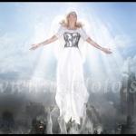 ANGEL 30*40cm 300:-