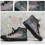 Piffat upp gamla skor med färg och konst!