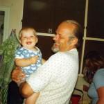 Morfar & jag