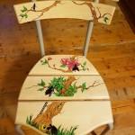 Återbruk stol tant grön, tant.. 1000:-