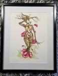 MAGNIFICENT akvarell 40x50 cm 3800:-