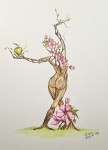 INGRID-MARIE akvarell 40x50 cm4200:-