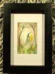 ELD akvarell 10x15 cm 500:-
