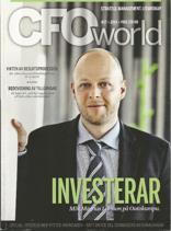 Kontroll av operationella risker vid outsourcing   CFO WORLD 27   September 2014