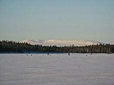 Det är vinter på Burusjön