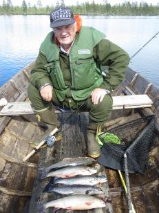 Långedrag fungerar fortfarande.  J. M. , nöjd fiskare på Öresjön den 23/6 - 2021.