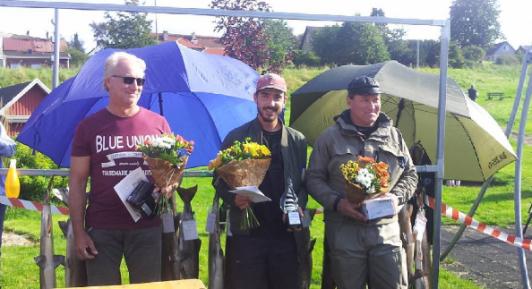 Från vänster: Jens Andraey, Frederick B. Augustsen och Magnus Ferdinandsson.