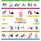 Plansch med Yogabilder