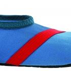 Barn Fitkicks, blå med röda detaljer