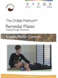 Remedial Pilates Scapula -