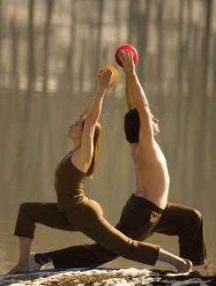 Yoga Fire Moves Kurs DVD + CD + Manual -