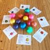Barn i Balans® Stora Paket: Bok + Yogakortlek + Plansch + Boll
