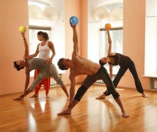 ChiBall Yoga Fire Moves - ChiBall Yoga Fire Moves