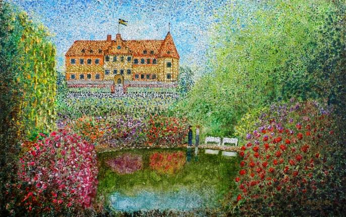 Free to navigate  art The Old King  Gustav VI Adolf