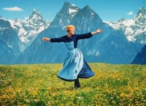 Julie Andrews i filmen Sound of Music