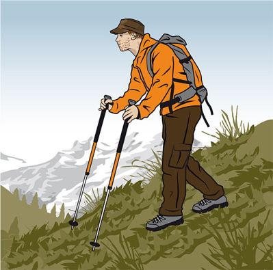 Rätt gång nerför berget © outdoor-magazin.com
