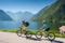 På elcykel till Hallstatt © OÖ.Tourismus / Hochhauser