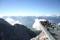 Utsiktsplattformen vid Dachstein-glaciären