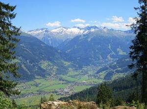 Bad Gasteindalen. Enda vandringsdestinationen i Österrike? Wikimedia Commons - Jorchr