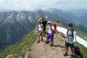 På väg upp till Ahornspitze i Zillertal © Austria Travel - Rusner