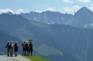Fantastisk utsikt över Zillerdalens berg © Austria Travel - Rusner