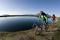 På tur med mountainbike