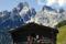 Paus vid mysig alpstuga © Österreich Werbung - Himsl