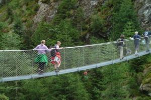 Hängbron över Wilde Wasser © Austria Travel - Rusner