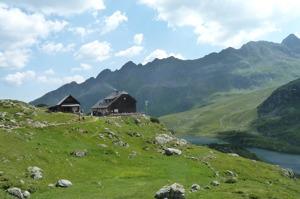 Ignaz-Mattis Hütte vid Giglachsjöarna © Austria Travel - Rusner