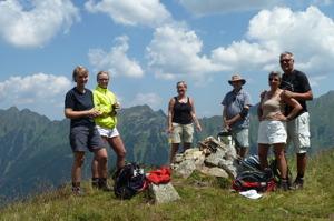 På vandringens högsta punkt © Austria Travel - Rusner