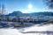Fästningen Hohensalzburg i snö © Tourismus Salzburg