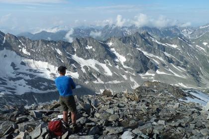 Vandring på 3.000 meters höjd. På Berliner Höhenweg i Zillerdalen. © Austria Travel - Rusner