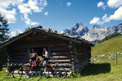 Cykla på egen hand i Österrike © Österreich Werbung - Hims