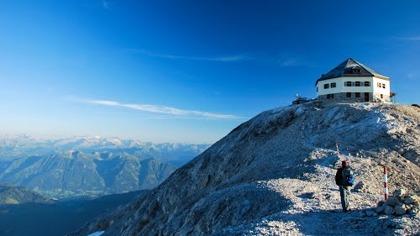 Matrashaus på toppen av Hochkönig (2.946 m) med fantastisk utsikt!