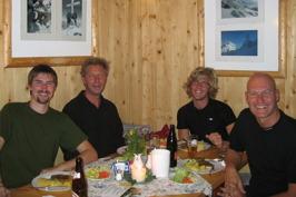 Middag i Theodor-Körnerhütte © Austria Travel - Rusner
