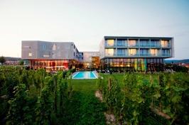 Hotellet Loisium Langenlois mitt i vingårdar