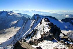 Utsikt från Hochfeiler 3.510 m