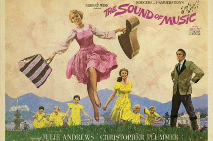 Filmaffisch Sound of Music